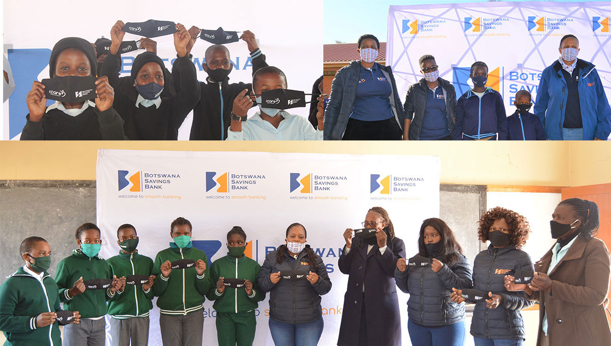 BSB donates COVID 19 face masks to primary schools